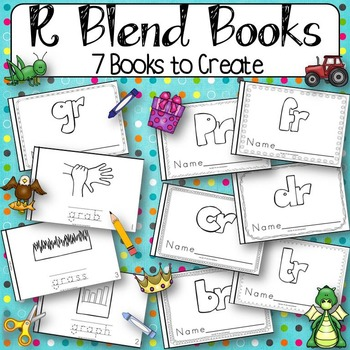 R Blends Books {7 Books to Create}