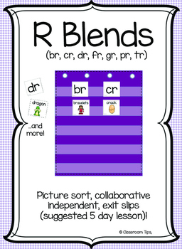 R Blends (COLOR & BW)