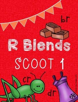 R Blends SCOOT 1: BR, DR, & CR Words