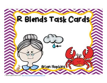 R Blends Task Cards