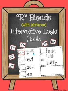"""""""R"""" Blends (with pictures) Interactive Logic Book"""