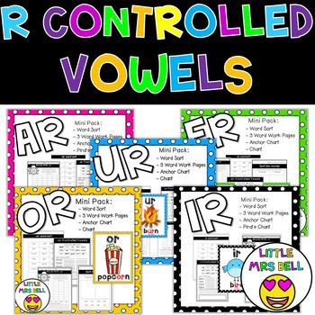 R Control Vowel Bundle