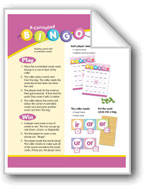 R-Controlled Bingo (R-Controlled Vowels: Phonics Games)