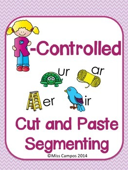 R Controlled Cut and Paste Segmenting Pages - AR, OR, IR, UR, ER
