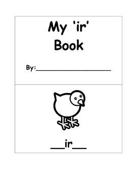 "R-Controlled ""My 'ir' Book"""