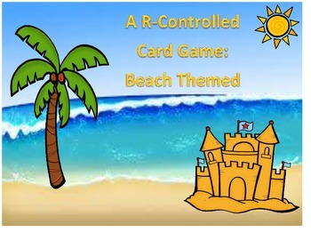 R-Controlled Summer Theme Card Game