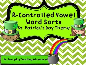 R-Controlled Vowel Word Sorts