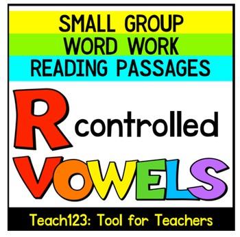 R Controlled Vowels Reading Passages Sorts Sentence Buildi