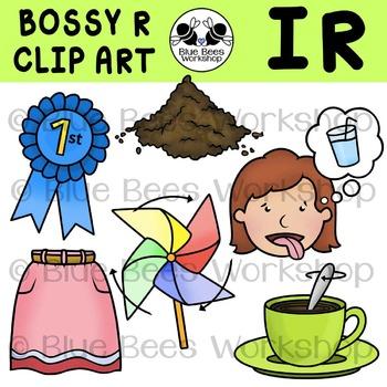 R-Controlled Vowels Clip Art - IR