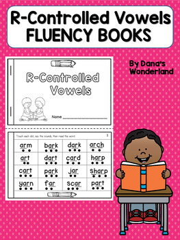 R Controlled Vowels Fluency Books