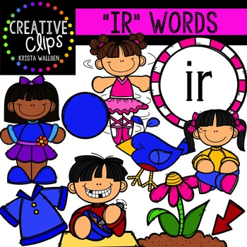 R-Controlled Vowels: IR {Creative Clips Digital Clipart}