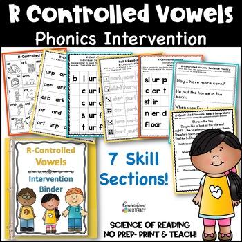 R-Controlled Vowels Intervention Binder