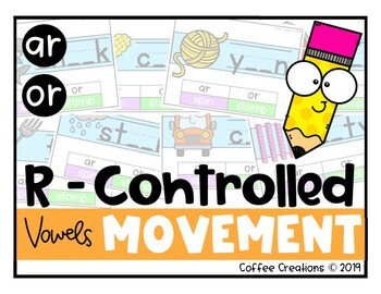 R - Controlled Vowels Movement Interactive Game (ar & or)