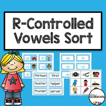 R-Controlled Vowels Sort for Centers