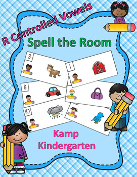 R Controlled Vowels Spell the Room