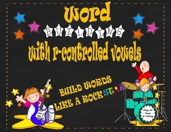 R-Controlled Vowels {Word Work}