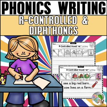 R-Controlled Vowels and Diphthongs Writing Printables