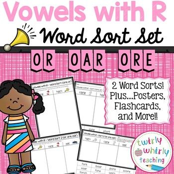R-Controlled or Word Sort Set