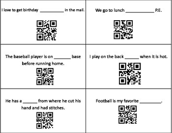 R Controlled spelling Practice with QR Reader