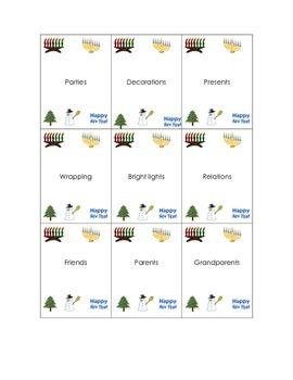 /r/  Artic Holiday Christmas flashcards