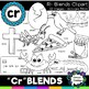 R blends clipart - Cr blends- 20 images! Personal and Comm
