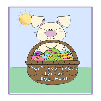 """""""R"""" control vowel pairs Easter Egg Hunt"""