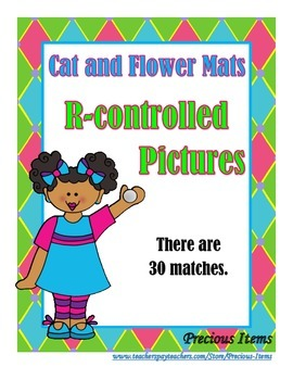 R-controlled Pictures - Cat and Flower Mats