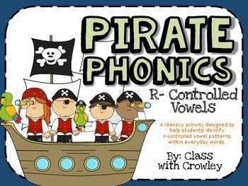 R-controlled Pirate Phonics