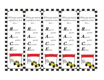 RACE Bookmarks