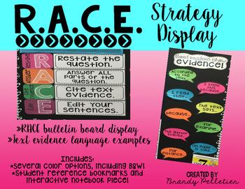 RACE Strategy Bulletin Board Display