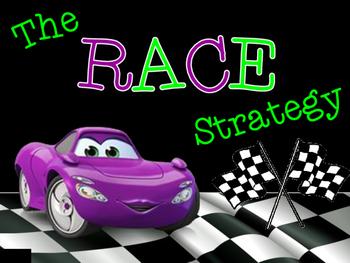 RACE Writing Strategy Poster Set