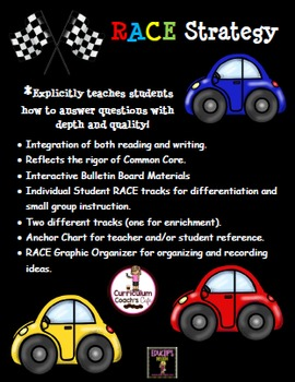 RACE Strategy:  Teach Reading Comprehension In-depth!