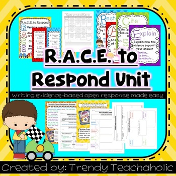 RACE UNIT CCSS Evidence-Based Open Response (graphic organ