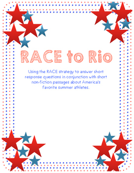 RACE to Rio Athlete Pack (Olympic Games 2016)