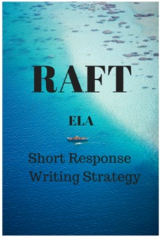 Common Core PARCC ELA Test Prep: RAFT Short Response Writi