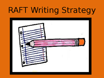 RAFT Writing PowerPoint