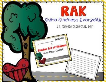 RAK 2014 Edition #BEKIND