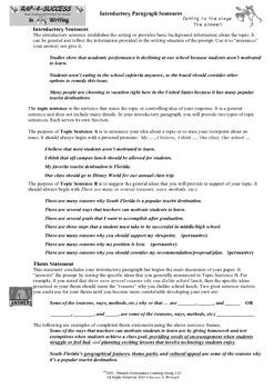 RAPLiteracy Introductory Helpers! (6-12)
