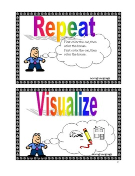 RE-VIS- Visual cues for facilitating retention of Auditory