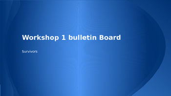 READ 180 Workshop 1 (Stage C) Bulletin Board