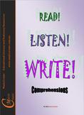 READ! LISTEN! WRITE!