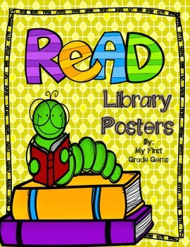 READ Library Posters-FREEBIE!