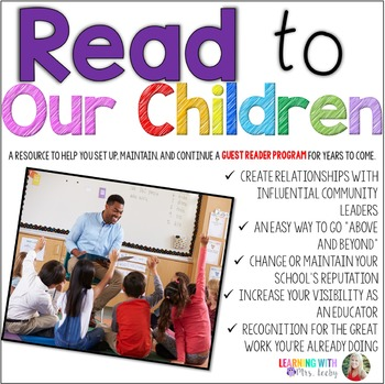 READ TO OUR CHILDREN - Set up, maintain, and continue a gu