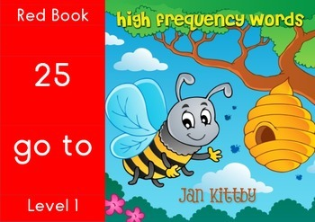 9 READING BOOKS:  SIGHT WORDS      RED BOOKS 25-32