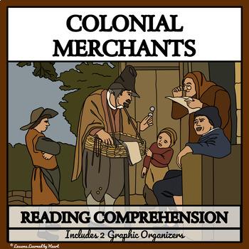 READING COMPREHENSION BUNDLE -  Colonial Merchants, Shopke