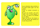 Spanish Reading Comprehension Cards Game