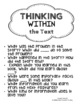 READING Questioning Stems - ALL in ONE Packet