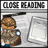 READING STRATEGIES CLOSE READING AND TEXT DEPENDENT QUESTI