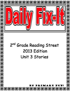 DAILY FIX-IT: UNIT 3- READING STREET (2013 Edition) - Seco