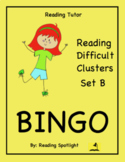 Reading Game: Reading Difficult Clusters Set B (Reading Tu